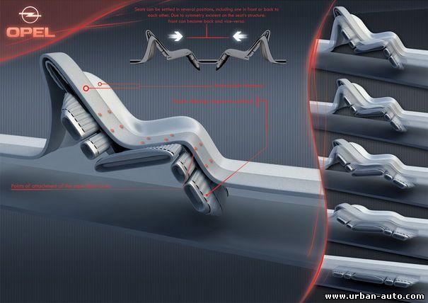 Автомобиль люкс-класса Opel Siderium