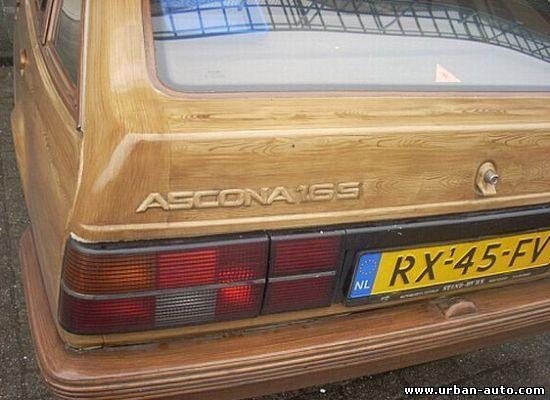 Opel Ascona тюнинг