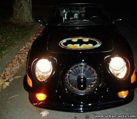 Как старый Opel стал автомобилем для Бэтмена